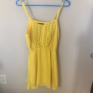 Urban Outfitters yellow summer dress